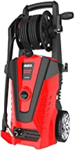 iRozce Pressure Washers, 3850PSI 2.4GPM Max Electric Power Washer with Hose Reel/Adjustable Nozzles, Turbo Nozzle, Foam Ca...