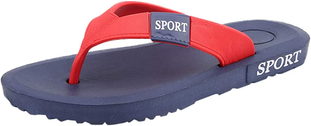 Dolloress Mens Outdoor Flip Flops ⭐ Clip toe//Casual//Anti-skidding Breathable//Home Slippers
