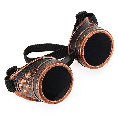 TENGGO Farbe Sonnenfinsternis Brille Brille Elektrische Schweißen Sonnenbrille Winddicht Reiten Brille-Rost
