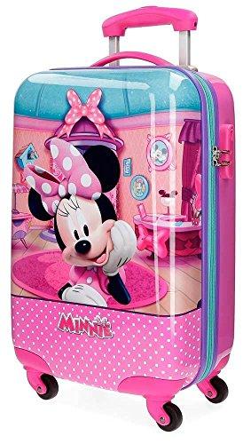 Minnie Smile Valigia per bambini, 55 cm, 33 liters, Rosa