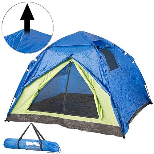 Semptec Urban Survival Technology Zelte: Automatik-Kuppelzelt für 4 Personen, 5.000 mm Wassersäule (Schnellaufbau-Zelt)