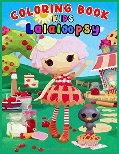 COLORING BOOK KIDS Lalaloopsy: Lalaloopsy dolls Coloring & Activity Book, Let's Luau Giant Coloring & Activity Book 2020