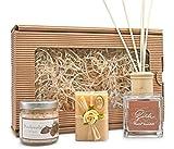 NEU! Wohlfühl Paket Zirbe • mit Seife aus BIO Schafsmilch, Raumduft und Badesalz • hergestellt...