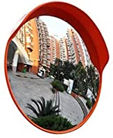 Professionl Traffic wide-angle lens Wide-angle Lens Intersection Parking Lot Corner Convex Mirror Outdoor Turning Road Traffic Safety Mirror Traffic wide-angle lens (Color : 45cm)