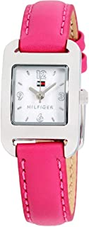 Tommy Hilfiger Communion White Dial Leather Strap Ladies...