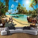 Yirenfeng Piraten Schatz Insel Landschaft 3D Hintergrund