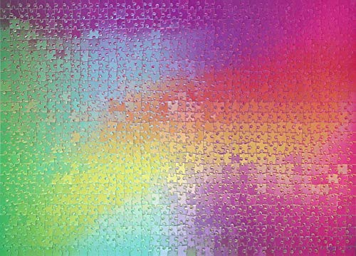 1000 colours puzzle - 2