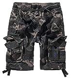 Pantalones cortos Brandit Pure Vintage, muchos colores, tamaño S hasta 7XL Darkcamo XXXL