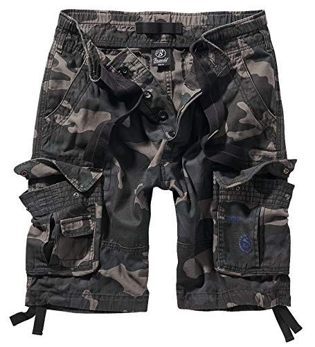 Brandit Pure Vintage Shorts, Darkcamo 7XL