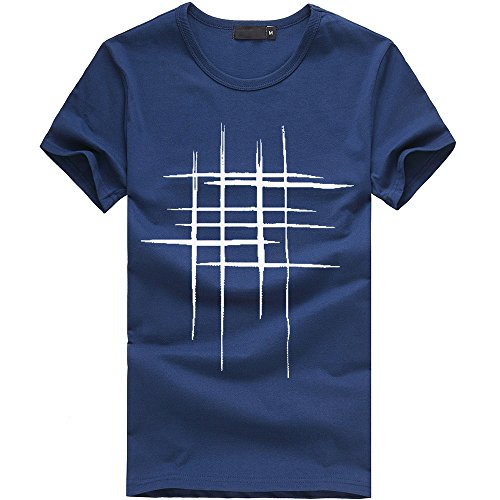Herren Easy T-Shirt Herren Tee Crew Neck T-Shirt Slim-Fit Crew Pocket T-Shirt Herren T-Shirt Rundhals O-Neck Tee Shirt 3D Druck Kurze Ärmel Grafik T Shirts