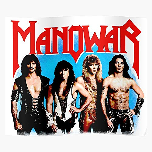Generic Band Haevy 80S Vintage Metal Tape True Manowar Home Decor Wall Art Print Poster !! Home Decor Wandkunst drucken Poster !