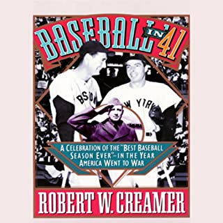 Baseball in '41 audiobook cover art