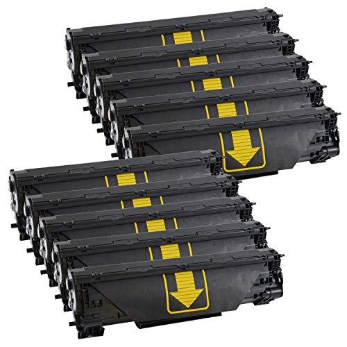 10 Bubprint Toner kompatibel für HP CF283A 83A für LaserJet Pro MFP M125a M125nw M126a M126nw M127fn M127fs M127fw M128fn M128fw M201dw M201n M225dn M225dw M226dn M226dw Schwarz