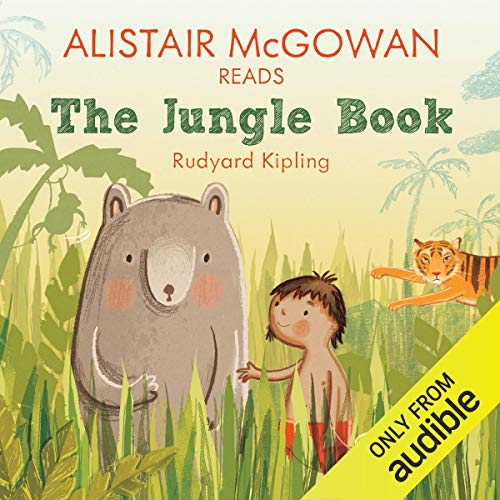 Alistair McGowan reads The Jungle Book (Famous Fiction) copertina