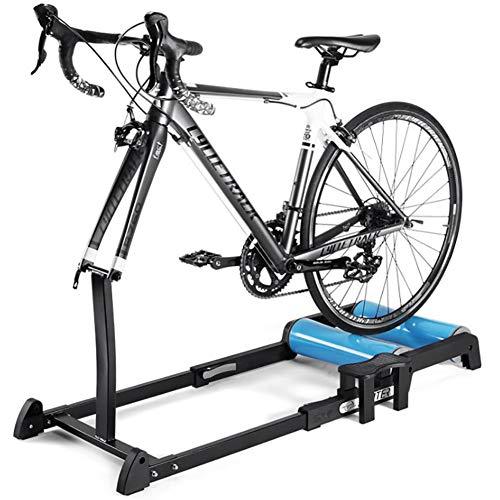 Rodillo de Ciclismo para Todas Estaciones, Material Aleación Aluminio, Rodillo Silencioso, Antideslizante,...