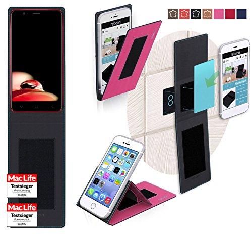 Hülle für Elephone P8 Mini 2017 Tasche Cover Hülle Bumper   Pink   Testsieger