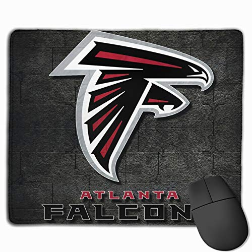 Atlanta fit Falcons Mouse Pad,Mouse Mat with Durable Stitched Edge for Office Gaming Laptop Computer PC Men Women Kids,11.8 x 9.8 in