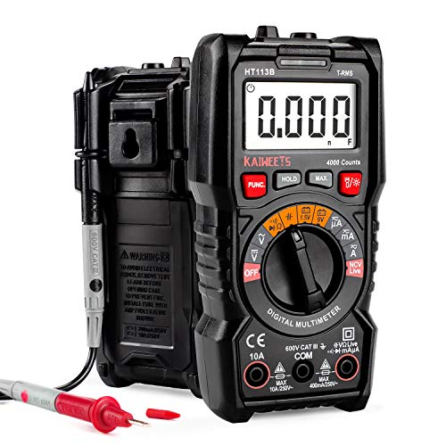 KAIWEETS Digital Auto-Ranging Multimeter,...