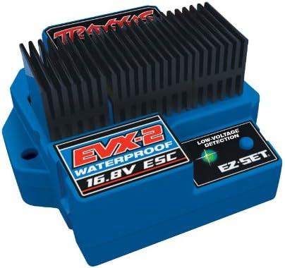 Traxxas 3019R EVX-2 Waterproof ESC Time sale Voltage discount Low Detection with