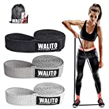 COYKIRK Resistance Bands Set, Pull Up Bands, Bands for Working Out Fabric Resistant Bands for Resistance Training, Physical Therapy, Home Workouts (Black, Dark Gray, Light Gray)