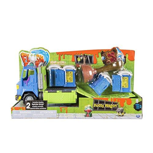 Flush Force 6037333 - Klo - LKW Serie 2, mit scheußlichen Sammelfiguren für Kinder ab 4 Jahren (Farben/Designs können variieren)