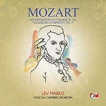 Divertimento in F Major K. 138 Salzburg Symphony 3