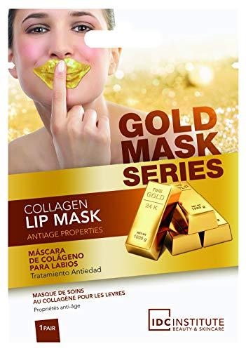 Lot de 2 masques de soin collagène pour les lèvres - Or - Anti-âge