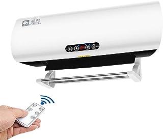 Calentadores Baño Calentador, Hogar/Dormitorio Calentador De Pared, Aire Acondicionado De Calentador Eléctrico De Oficina De 2000 W De Velocidad 3 Engranajes Ajustan El Aire Caliente