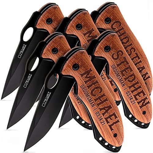 Personalized Pocket Knife for Groomsmen