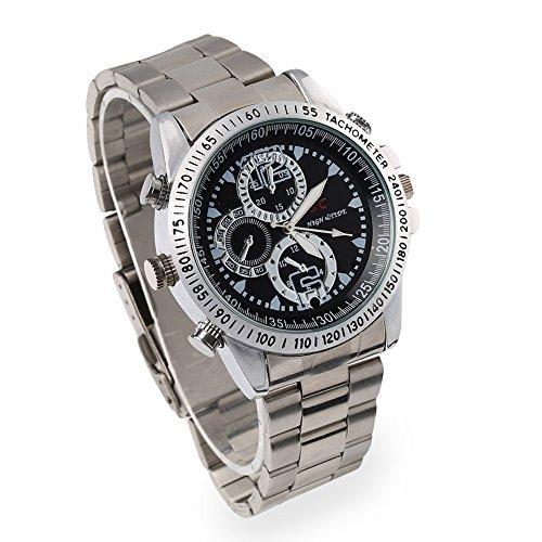 VERY100 HD Armbanduhr mit integrierter Kamera, 8 GB Speicher , 1280 x 720 Pixel Video, Bewegungsmelder, Spycam Uhr