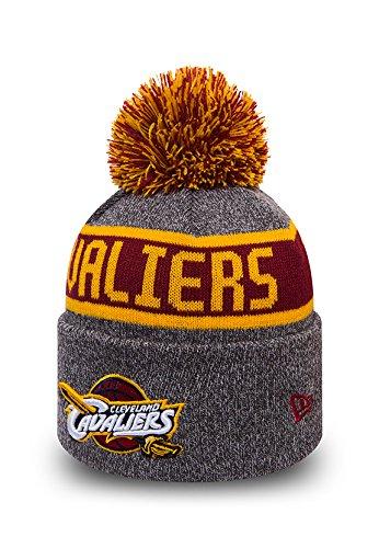 Cleveland Cavaliers New Era Kids NBA Marl Knit Bobble Hat (Age 5 - 10 Years)