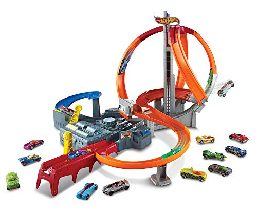 Hot Wheels Spin Storm Track Set [Amazon...
