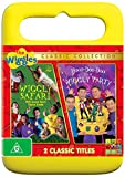 The Wiggles Hoop Dee Doo It's a Wiggly Party / Wiggly Safari | NON-USA Format | PAL | Region 4 Import - Australia