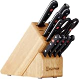 WÜSTHOF Gourmet Twelve Piece Block Set | 12-Piece German Knife Set | Precise Laser Cut High Carbon...