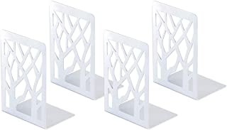 bookends White-2 Pair