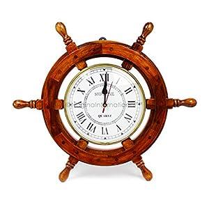 512fa77eVDL._SS300_ Coastal Wall Clocks & Beach Wall Clocks