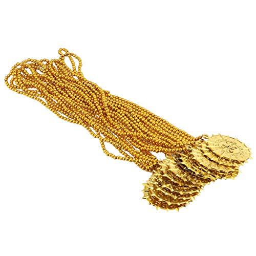 NUOBESTY - Halsketten für Kinder in Golden, Größe 30 x 7 x 0,2 cm