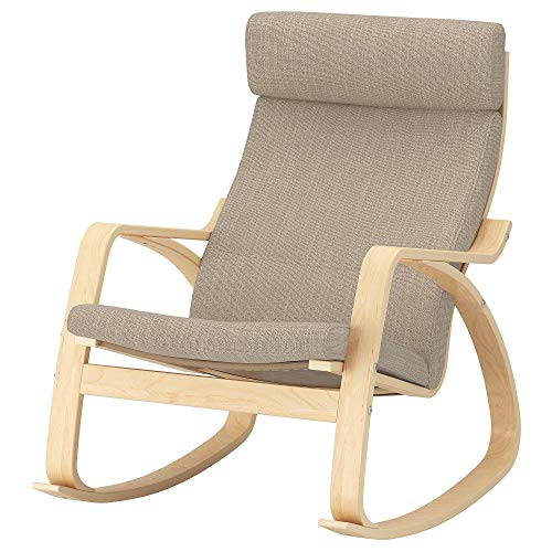 IKEA POANG-Schaukelstuhl-Stuhl