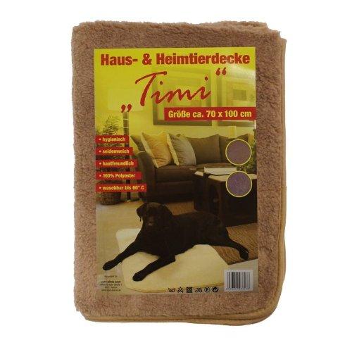 Animaux domestiques et de compagnie Couette 'Timi' env. 70 x 100 cm, lavable, soyeux, différents coloris marron