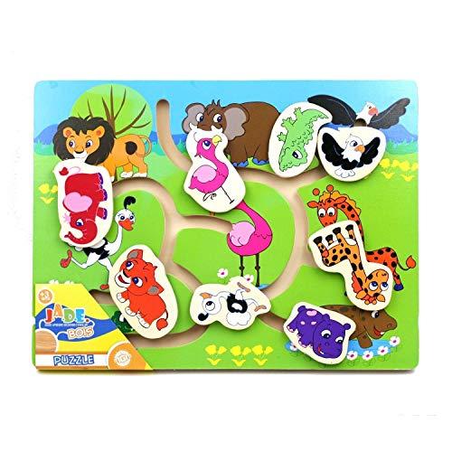 Puzzle Bois casse tête Animaux - Modèle 2