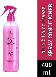 Schwarzkopf Professional BC pH4.5 Color Freeze Spray Conditioner, Pink, 400 ml