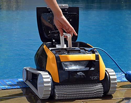 Dolphin E20 - Elektrischer Reinigungsroboter, Poolroboter mit PVC Bürste, Pool Roboter für alle Poolformen - 4
