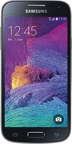 Samsung Galaxy S4 mini Smartphone (10,8 cm (4,3 Zoll) Touch-Bildschirm, 8 GB Speicher, Android 4.4) schwarz
