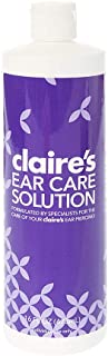 Claire's Ear Piercing After Care Lotion for New Piercings, Daily Care Solution, 16 fl oz