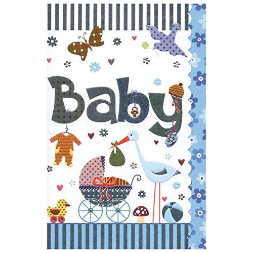 Susy Card 40009858 Grußkarte zur Geburt/ Junge