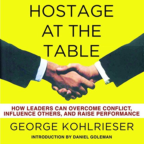 Hostage at the Table audiobook cover art