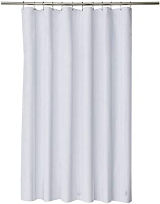 MUZHI Shower Curtain With 72 X Inches WhiteUpgrade Waterproof Moldproof And Antibacterial