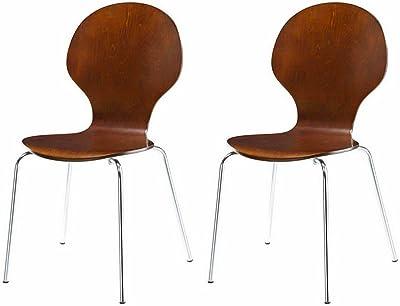 Fußboden Modern Ebook ~ Amazon dhp novogratz shell bentwood modern round chairs