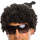 Rubie's Tight Afro Wig, Black, One Size