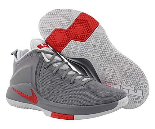 Nike Mens Zoom Witness Low Top Lace Up Basketball Shoes, Grey, Size 12.0 I8az